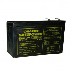 EXIDE CHLORIDE SAFEPOWER SMF 7AH BATTERY