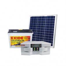 EXIDE SOLAR 900VA INVERTER + 100AH BATTERY + 150WP PV PANEL