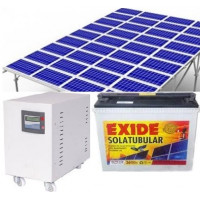 SOLAR ROOFTOP SYSTEM - 1.4KVA (1KW) OFFGRID