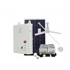 SOLAR DC HOME LIGHTING SYSTEM WITH DC APPLIANCES